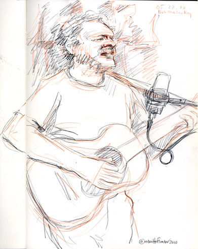Bob Malenky, 05.22.10, <b>ordering Niaspan online</b>.  <b>Order Niaspan online overnight delivery no prescription</b>, Drawing by and &copy; Robin Hoffman, 2010