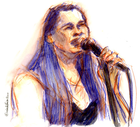 Katryna Nields, 05.15.10, <b>buy Zantac online without prescription</b>.  <b>Zantac price, coupon</b>, Drawing by and © Robin Hoffman, 2010