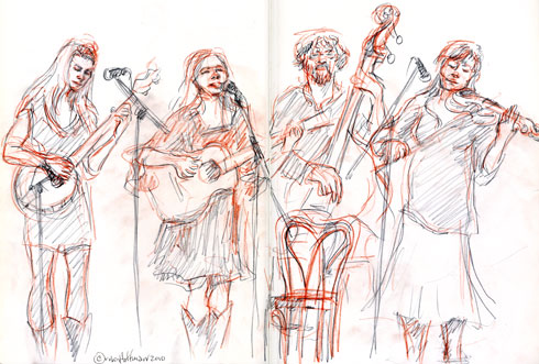 The Maybelles, 09.27.10, <b>order Ventolin online c.o.d</b>.  <b>Ordering Ventolin online</b>, Drawing by and &copy;Robin Hoffman, 2010