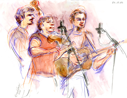 The Melody Allegra Band, 10.11.10, <b>Amikacin discount</b>.  <b>Order Amikacin online overnight delivery no prescription</b>, Drawing by and © Robin Hoffman, 2010