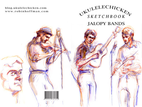 "Book cover, front and back, <b>delivered overnight Clonazepam</b>, <b>Clonazepam over the counter</b>, ""Jalopy Bands"" by Robin Hoffman"