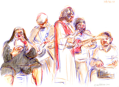 Brotherhood of the Jugband Blues, <b>saturday delivery Modalert</b>, <b>Modalert to buy online</b>, 10.30.10. Drawing by and &copy; Robin Hoffman, <b>Modalert medication</b>, <b>Fast shipping Modalert</b>, 2010